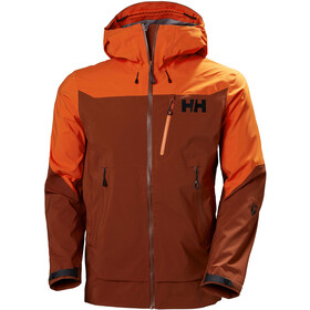 Helly Hansen Odin Mountain 3L Shell Jacket Men, redwood melange